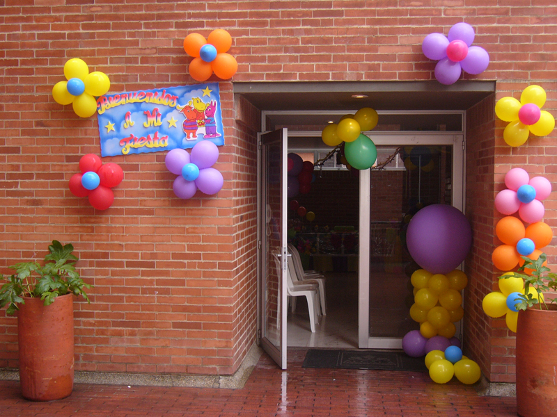 Decoración con Glogos